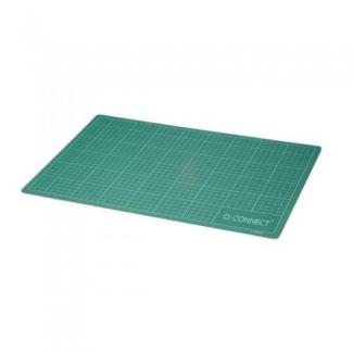 Q-Connect KF01135 - Plancha de corte, A4, medidas 220 x 300 mm, color verde