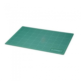 Q-Connect KF01137 - Plancha de corte, medidas 450 x 600 mm, color verde