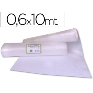 Liderpapel BU60 - Plástico burbujas, rollo de 0,60 x 10 m