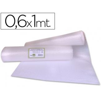 Liderpapel BU61 - Plástico burbujas, rollo de 0,60 x 1 m
