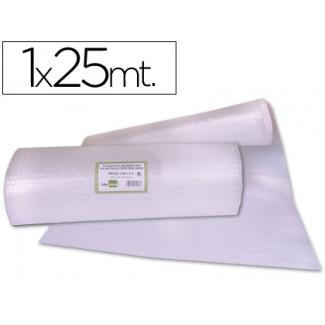 Liderpapel BU12 - Plástico burbujas, rollo de 1 x 25 m