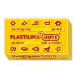Plastilina Jovi 70 color amarillo claro tamaño pequeño