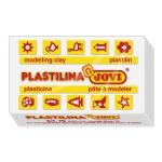 Plastilina Jovi 70 color blanca tamaño pequeño