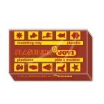 Jovi 70-09 - Plastilina, pastilla de 50 grs, color marrón