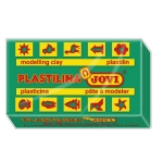 Jovi 70-11 - Plastilina, pastilla de 50 grs, color verde oscuro