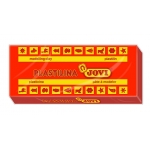 Jovi 71-05 - Plastilina, pastilla de 150 grs, color rojo