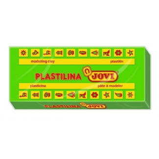 Jovi 71-10 - Plastilina, pastilla de 150 grs, color verde claro
