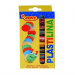 Jovi 90/10 - Plastilina, estuche de 10 barras de 15 grs, colores surtidos