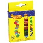 Jovi 90/6 - Plastilina, estuche de 6 barras de 15 grs, colores surtidos