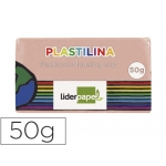 Liderpapel MC05 - Plastilina, pastilla de 50 grs, color carne