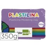 Plastilina Liderpapel color lila tamaño grande