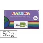 Plastilina Liderpapel color lila tamaño pequeño