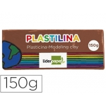 Plastilina Liderpapel color marron tamaño mediano