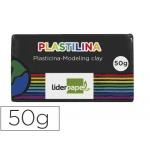 Plastilina Liderpapel color negro tamaño pequeño