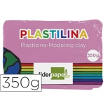 Plastilina Liderpapel color rosa tamaño grande