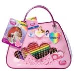 Plumier escolar Giotto princess bag con 32 piezas