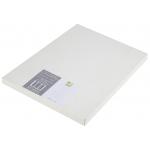 Poliester color blanco especial Q-Connect mate opaco tamaño A4 para impresoras laser paquete de 100 hojas 125 micras