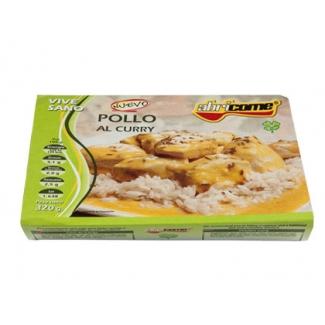 Pollo al curry Abricome racion individual calentar en microondas y listo 320g