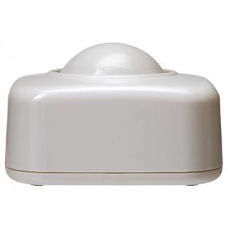 Portaclips Q-connect con bola dispensadora giratoria plástico color blanco