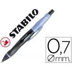 Portaminas Stabilo smartgraph 0,7 mm HB cuerpo color negro y lila para zurdos