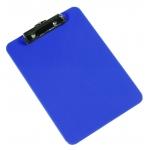 Portanotas Q-connect de plástico tamaño A4 color azul