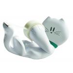 Portarrollo sobremesa Scotch gato c39 de 19 mm x 8,9 mt incluye rollo de cinta magic