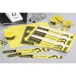 Pulsera identificativa Avery polietileno imprimible láser 265x25 mm color amarillo pack de 48 unidades