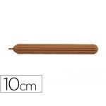 Punzon Faibo plástico imitación color madera con punta de acero latonado