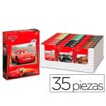 Puzzle Anadel 35 piezas an cars modelos color surtidos