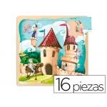 Puzzle Diset 16 piezas castillo
