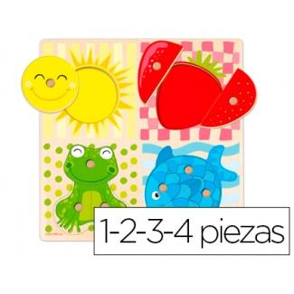 Puzzle Diset 4 colores