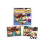 Puzzle Diset cuento la casita de chocolate 1x48 piezas