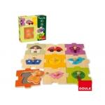 Puzzle Diset intercambiable 18 piezas