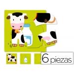 Puzzle Diset vaca