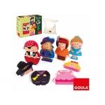 Puzzle Goula color infantil personajes magnéticos