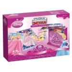 Puzzle color infantil xtra Diset castillo de las princesas 2 x 50 piezas