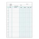 Multifin 4175500 - Recambio de cuentas corrientes, 3005, tamaño folio, 50 hojas