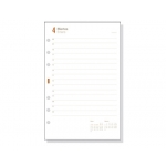 Recambio agenda Finocam 400 anualidad día página 91x152 mm