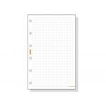 Recambio agenda Finocam 400 cuadrícula 91x152 mm