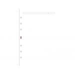 Recambio agenda Finocam 400 liso color blanco 91x152 mm