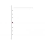 Recambio agenda Finocam 500 liso color blanco 117x181 mm