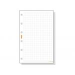 Recambio agenda Finocam cuadrícula 155x215 mm