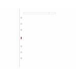 Recambio agenda Finocam liso color blanco 155x215 mm