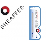 Recambio roller fine line Sheaffer color azul trazo medio punta amortiguada