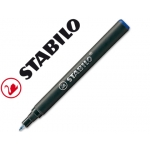 Recambio rotulador Stabilo easy original color azul
