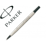 Recambio rotulador roller Parker 0.5 color negro