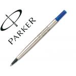 Recambio rotulador roller Parker 0.8 color azul