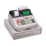 Registradora Olivetti ecr 8200 s cajon grande caja profesional conectable pc y lector codigo barras
