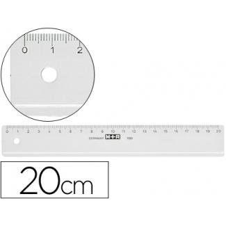 Opina sobre Regla Mor 20 cm plástico transparente