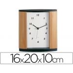 Reloj de oficina imitación a madera century 346